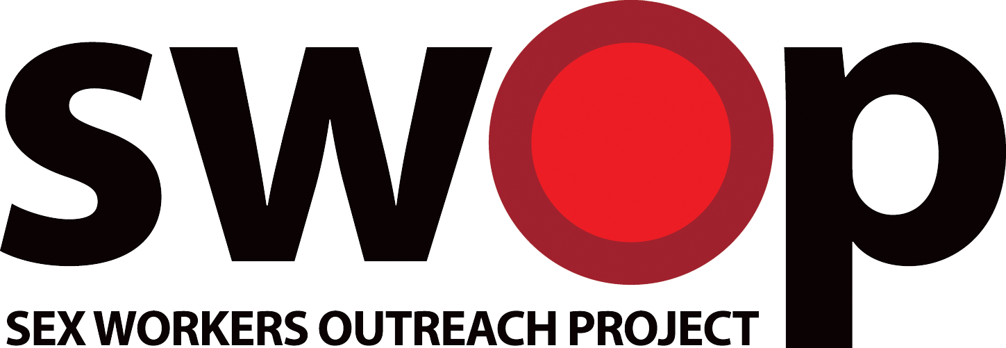 SWOP Sex Workers Outreach Program Logo
