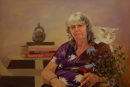 Roberta Perkins, by Nada DeCat